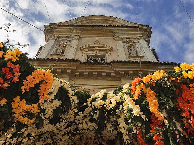 Festa dei fiori a Montisola